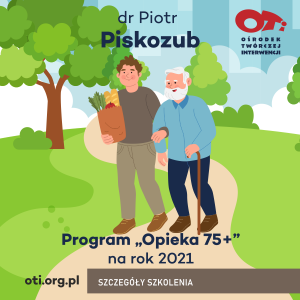"Program ""OPIEKA 75 PLUS"" na rok 2021"