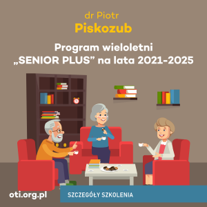 "Program wieloletni ""SENIOR PLUS"" na lata 2021-2025"